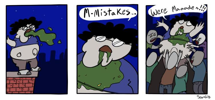 Gizcomic – 13 – Mistakes