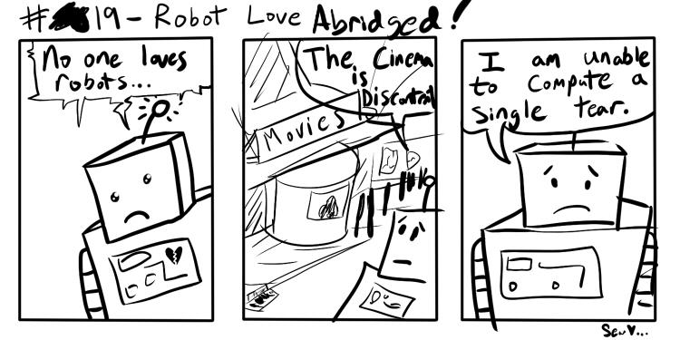 Gizcomic – 19 – Robot Love Abridged