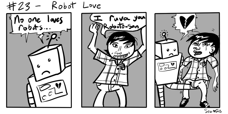 Gizcomic – 23 – Robot Love